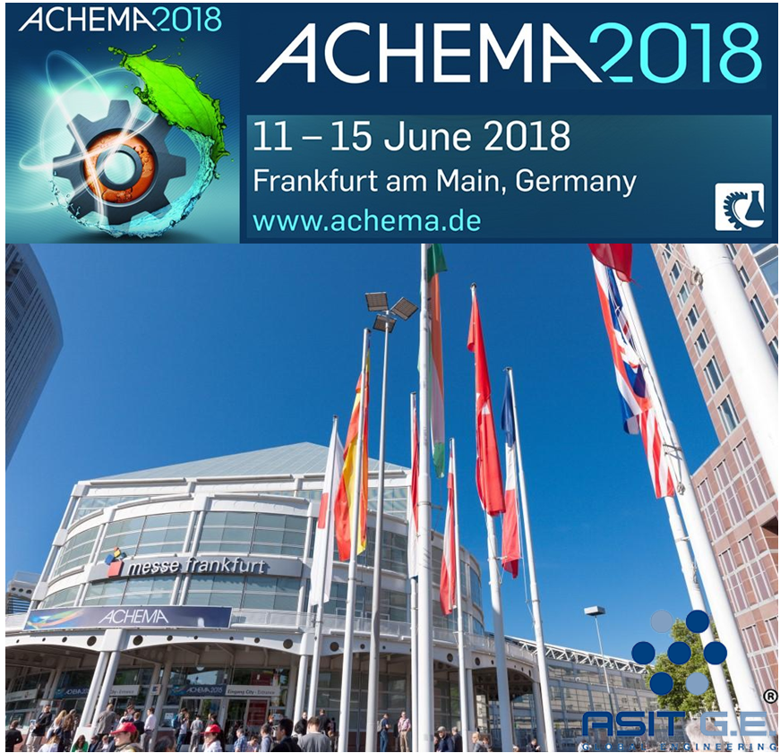 ACHEMA 2018 - FRANKFURT AM MAIN
